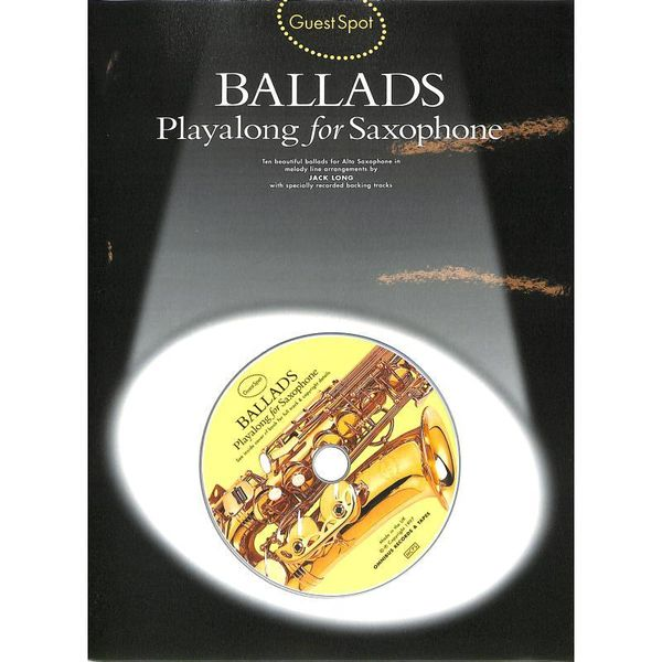 Ballads - Playalong for Saxophone - Altsaxophon Noten [Musiknoten]