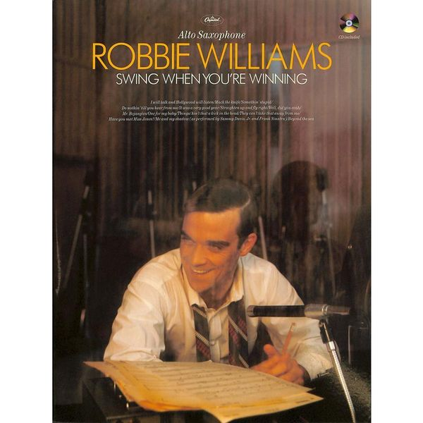 Robbie Williams - Swing When You're Winning - Altsaxophon Noten [Musiknoten]