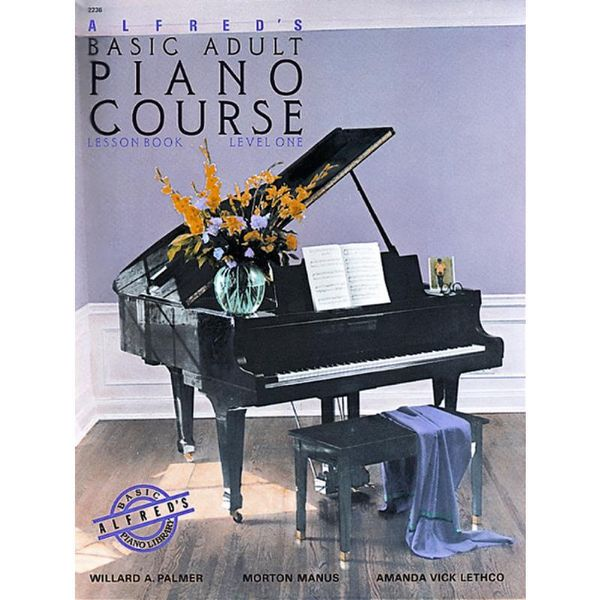 Alfred's Basic Adult Piano Course: Lesson Book Level One. Noten für Klavier