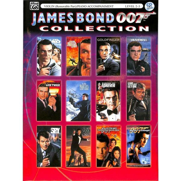 James Bond 007 Collection: Violin - Noten für Violine, Klavierbegleitung