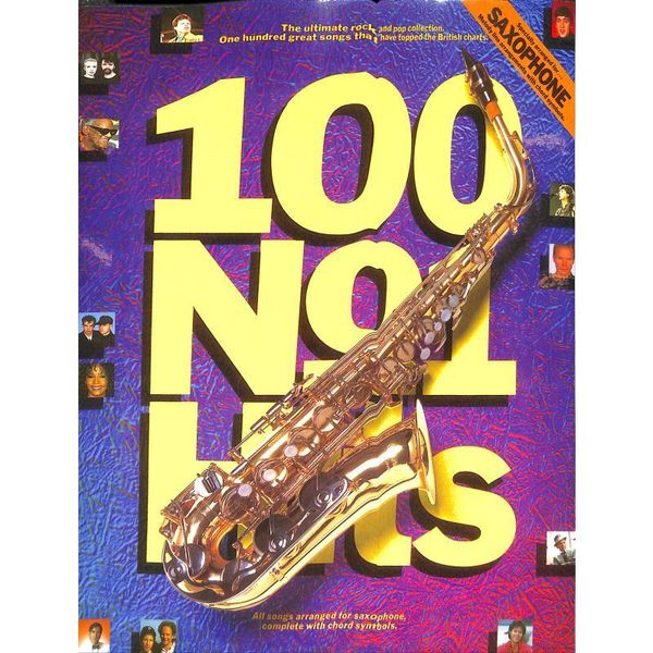 100 Number One Hits for Saxophone - Saxophon Noten [Musiknoten]