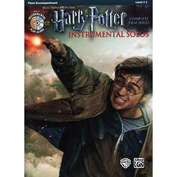 Harry Potter Instrumental Solos - from the Complete Film Series - Klavierbegleit