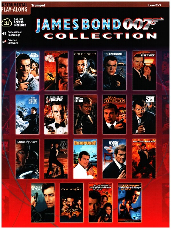 James Bond 007 Collection Trumpet - Trompete Noten [Musiknoten]