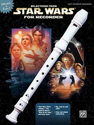 Selections from Star Wars for Recorder (Music Is Fun) [Taschenbuch] john-williams