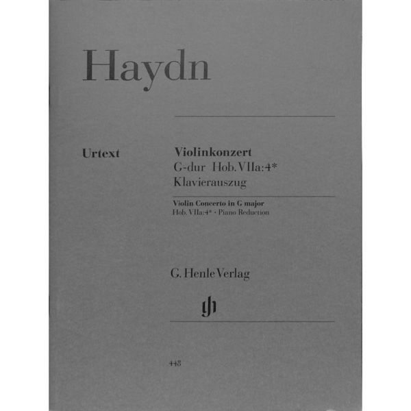 F. J. Haydn: Violin Concerto In G Major (With Piano Reduction) Für Violine, Klav