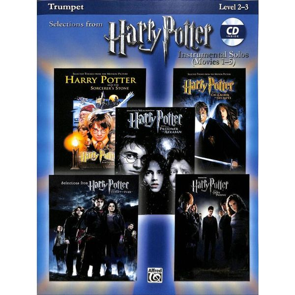 Harry Potter - Instrumental Solos (Movies 1-5) - Trumpet. Für Trompete