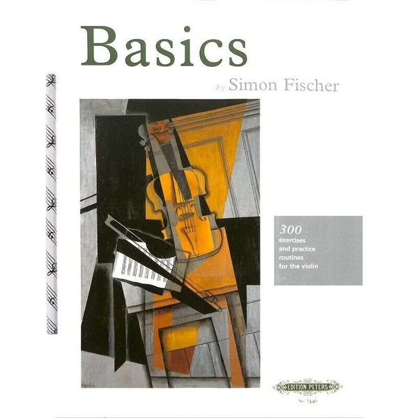 Simon Fischer - Basics - Exercises and Practice Routines - Noten für Violine +