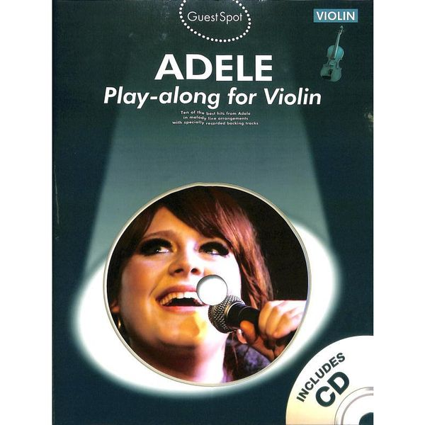 Adele - Play-along for Violin - Violine Noten [Musiknoten]